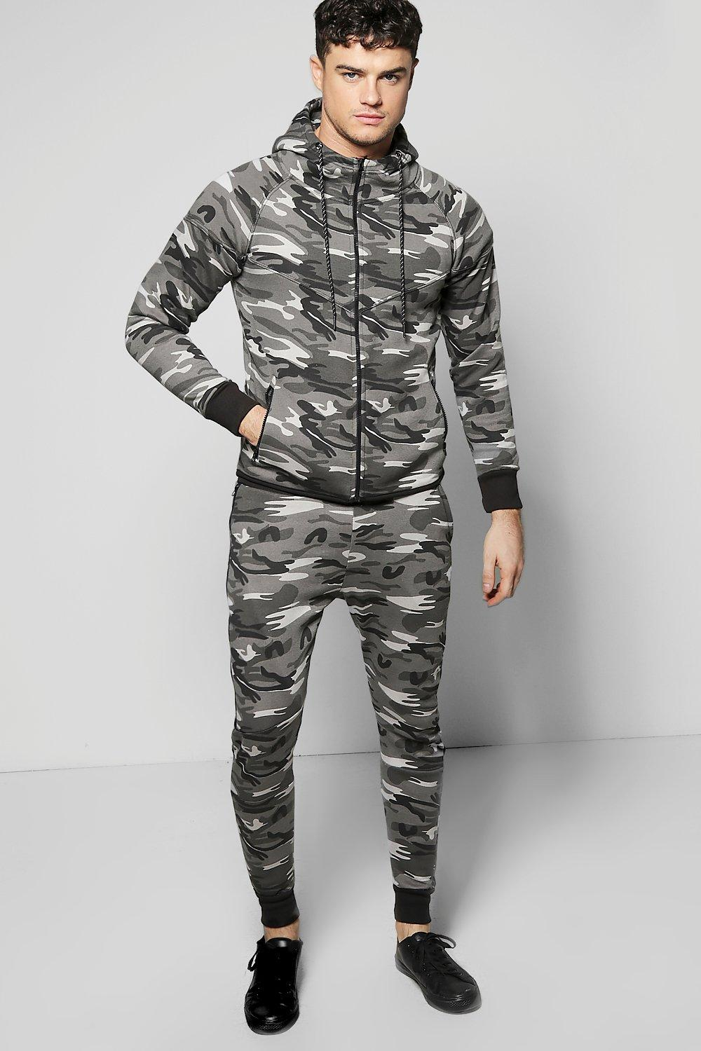 Skinny Fit Combat Tracksuit