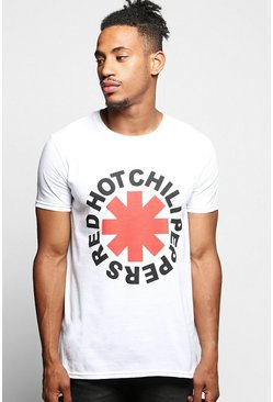 Red Hot Chilli Peppers License T-Shirt