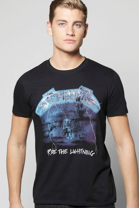 Metallica Lightening License T-Shirt