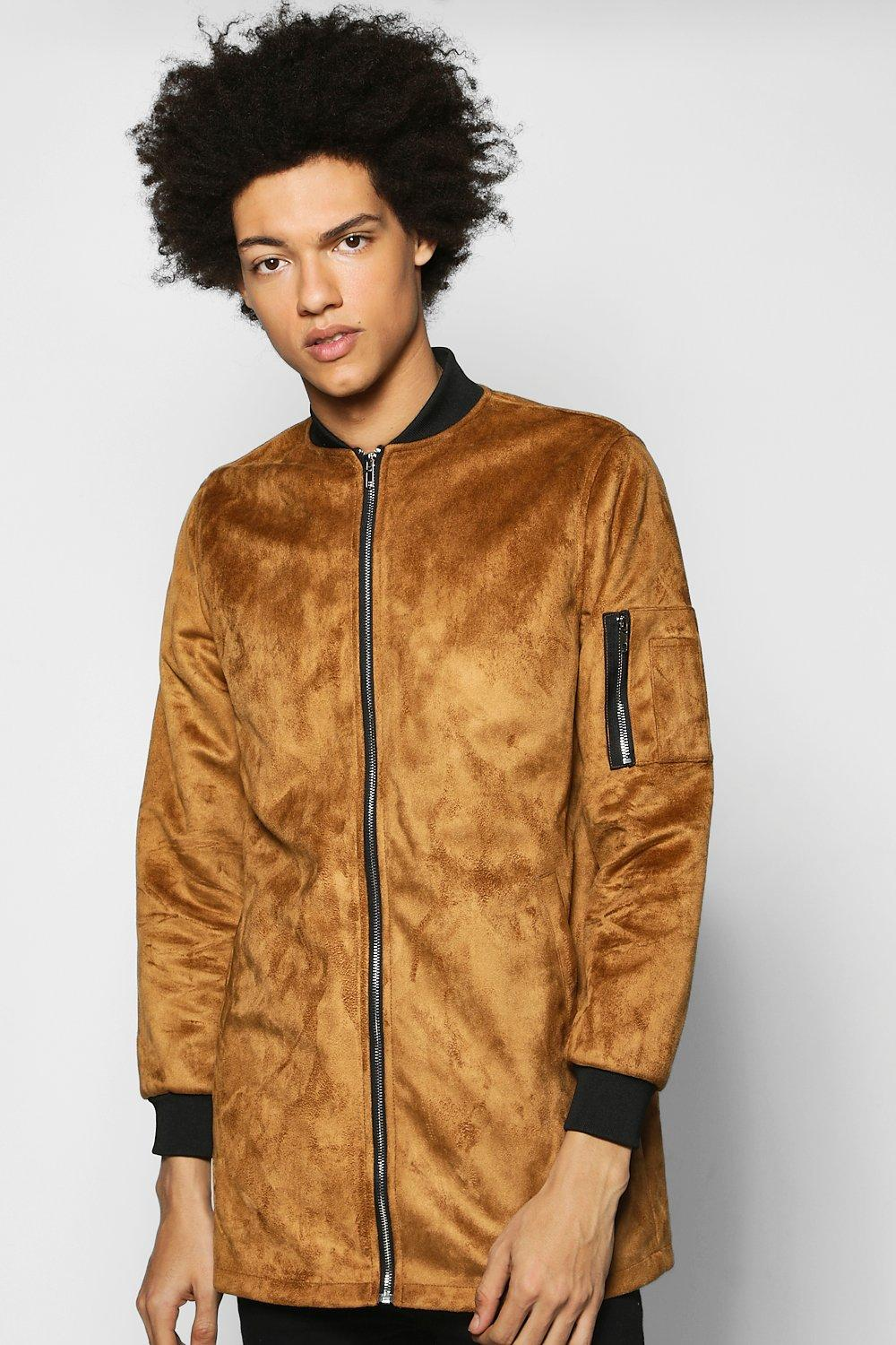 Product photo of Bomber jacket tan