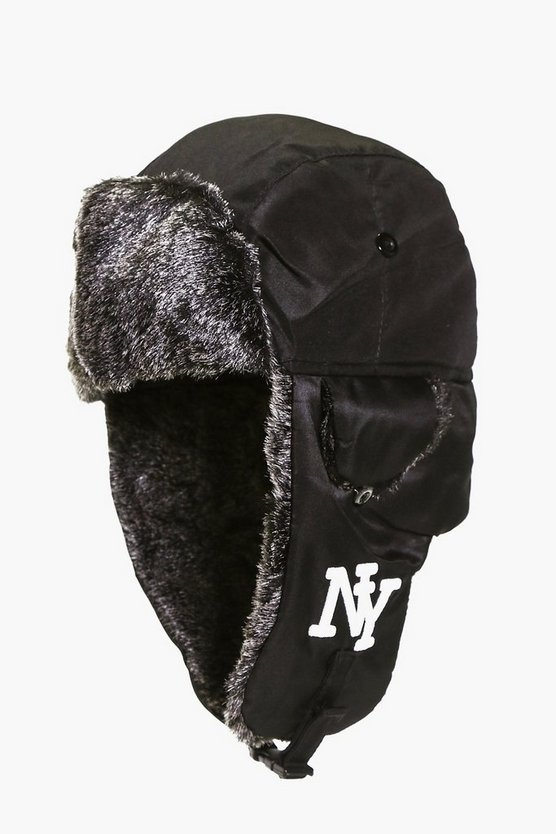 NY Faux Fur Lined Trapper