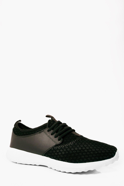 Product photo of Mesh running trainers khaki