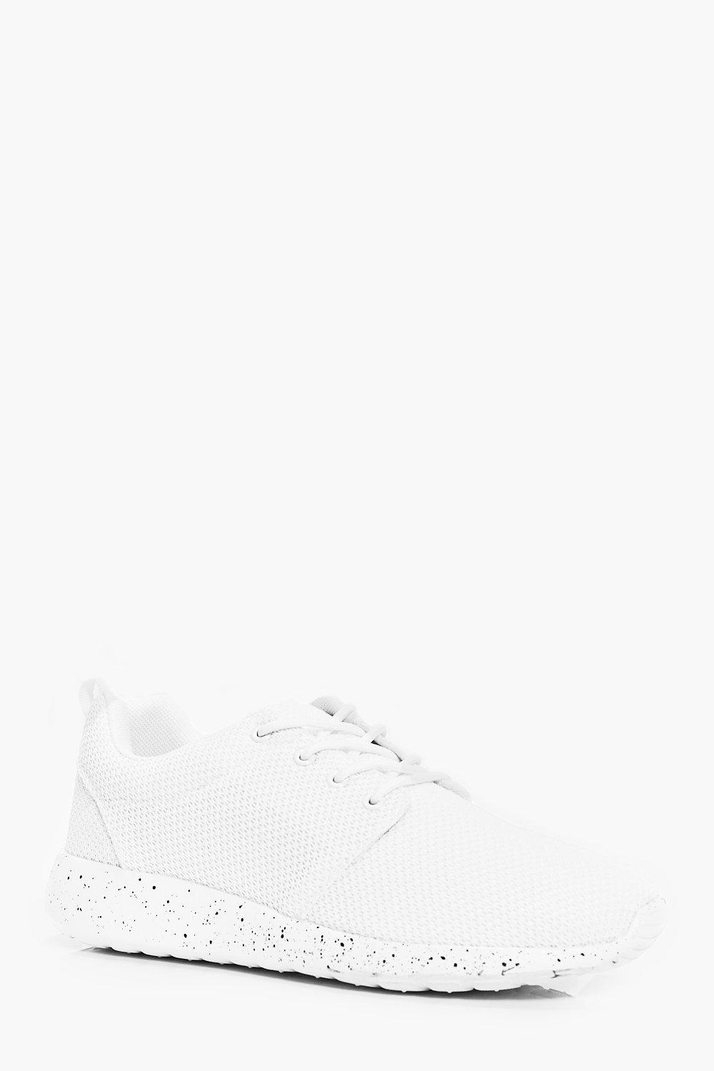 Product photo of Up running trainers with speckled sole white