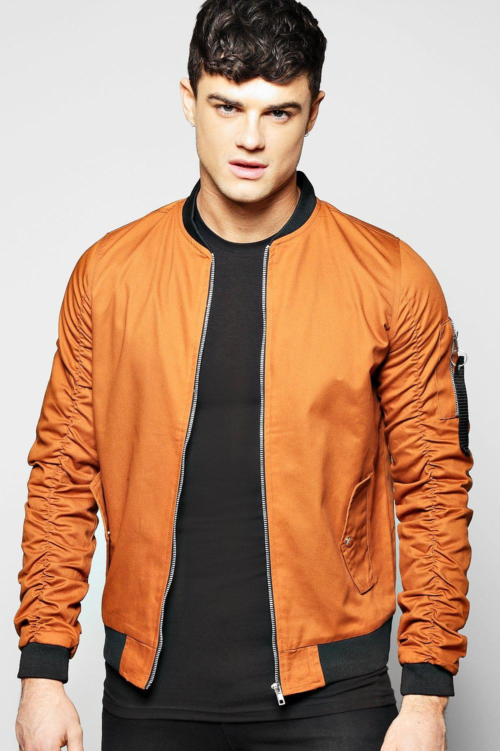 Cotton MA1 Bomber with Parachute Sleeves