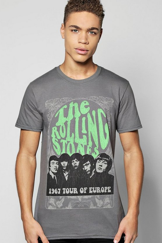 The Rolling Stones License T-Shirt