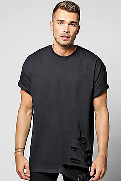 Oversized Destroyed T-Shirt