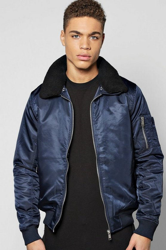 MA1 Harrington with Detachable Borg Collar