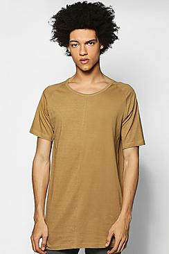 Cut And Sew Nepp T-Shirt