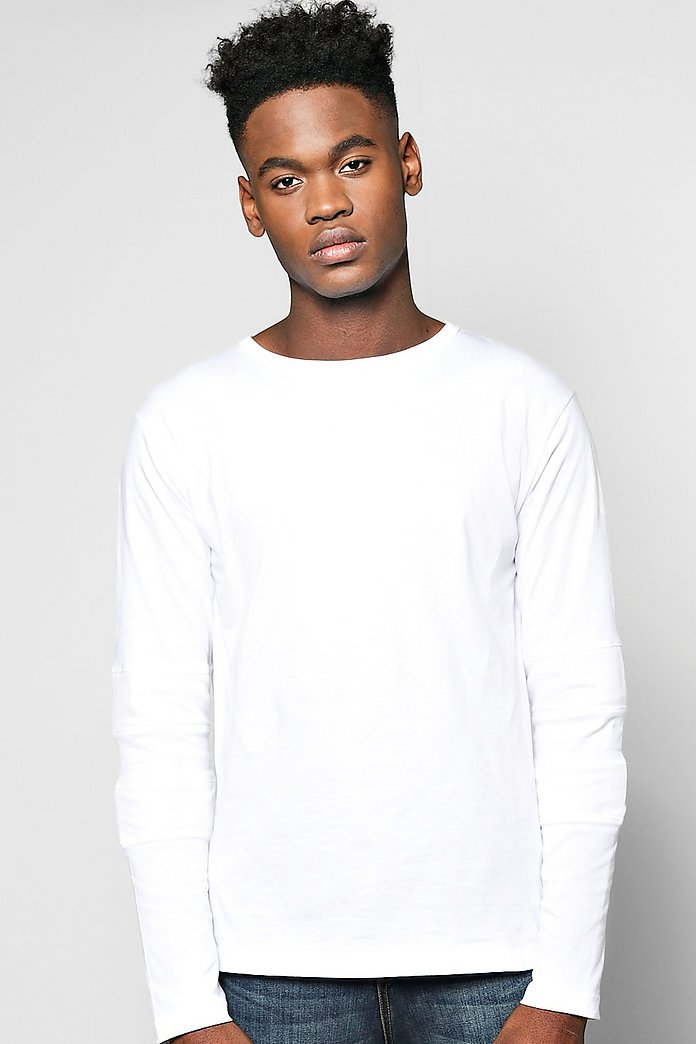 Long Sleeve Scoop Neck