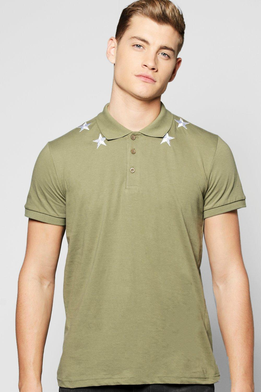 Star Embroided Polo