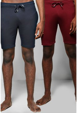 2 Pack Lounge Wear Shorts