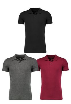 Muscle Fit Polo 3 Pack