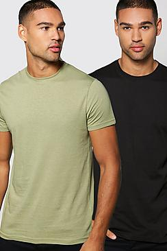 Crew Neck T Shirt 2 Pack