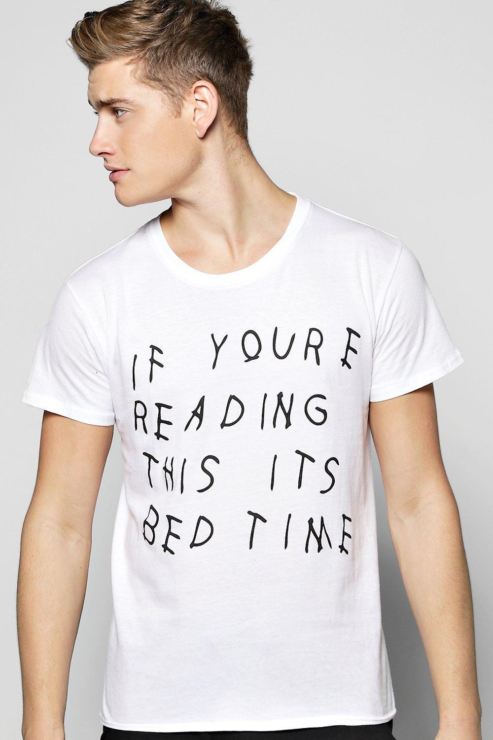 If You're Reading This It's Bedtime Lounge T shirt