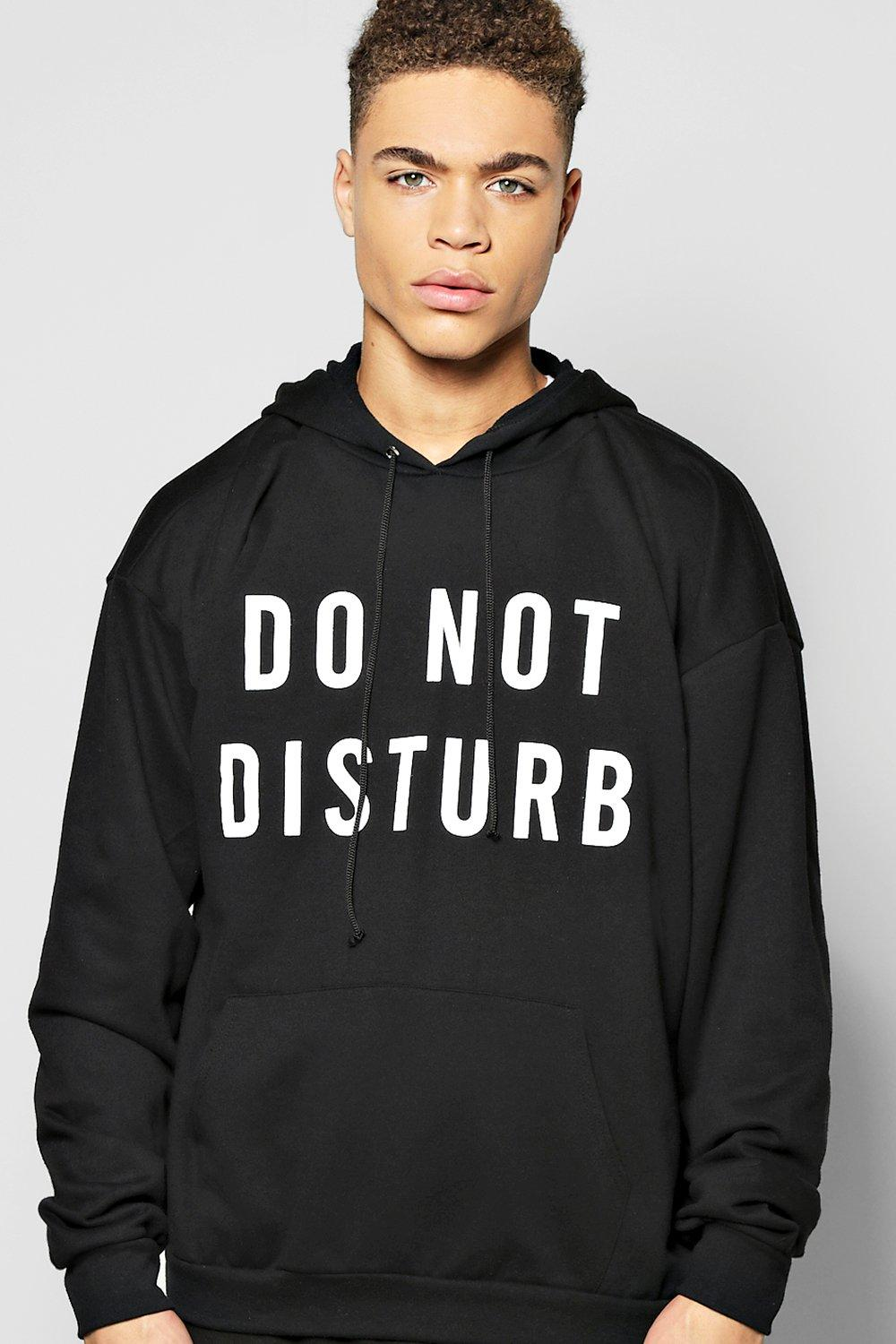 Do Not Disturb Over The Head Hoodie
