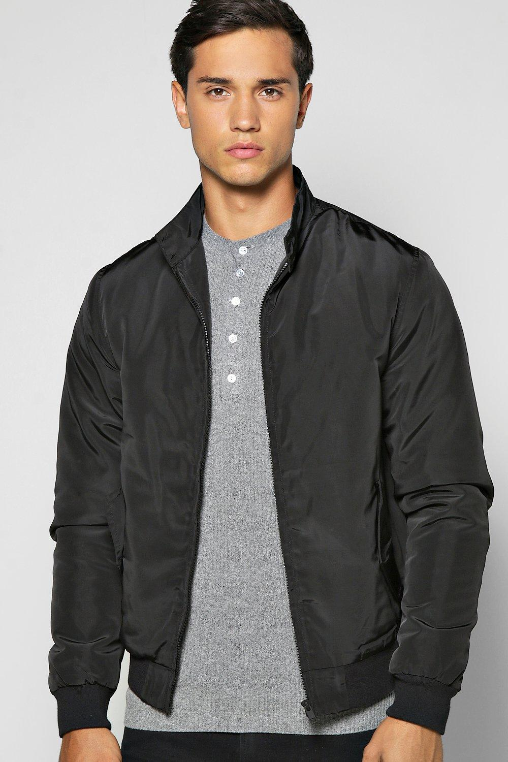 Padded Nylon Harrington