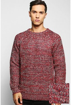 Brushed Fisherman Cable Knit Jumper