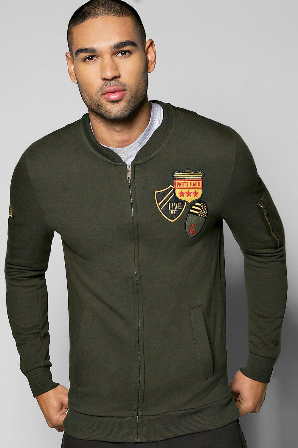 Badge MA1 Jersey Bomber