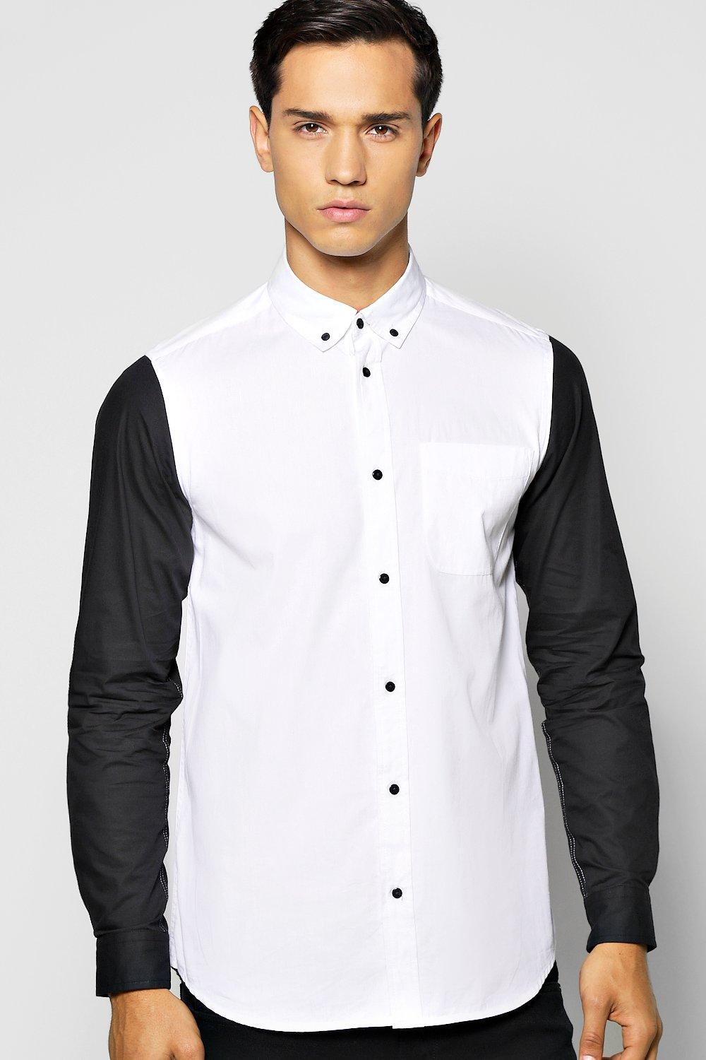 Quincy Contrast Long Sleeve Shirt