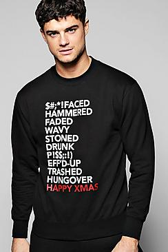 Xmas Slogan Sweater