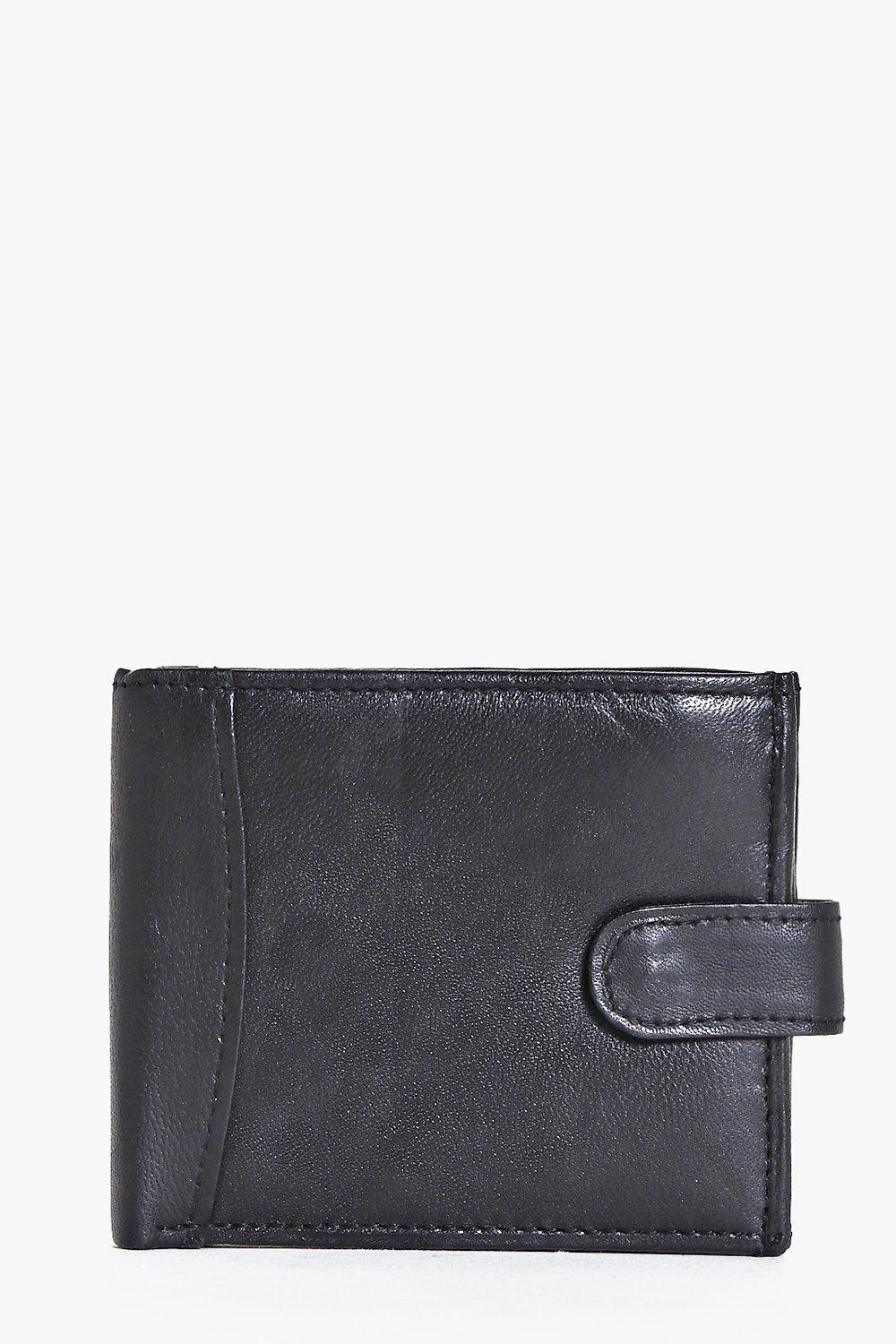 Real Leather Black Wallet