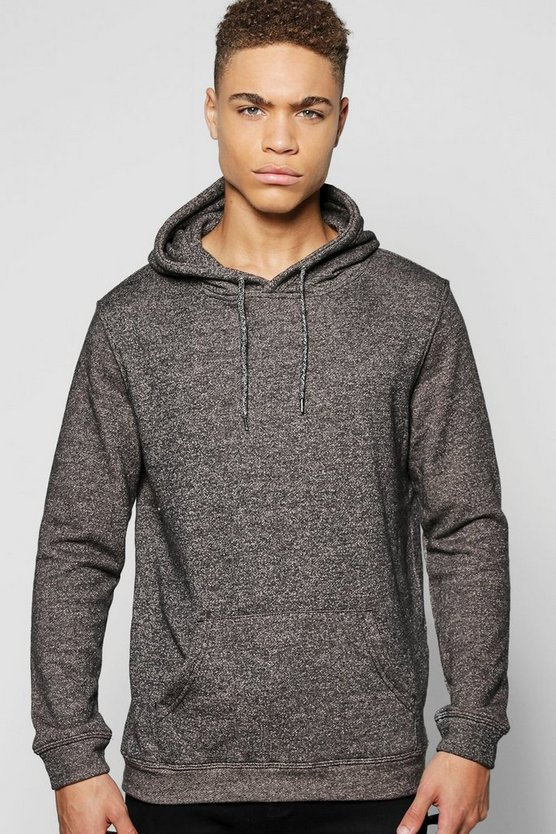Over The Head Melange Hoodie