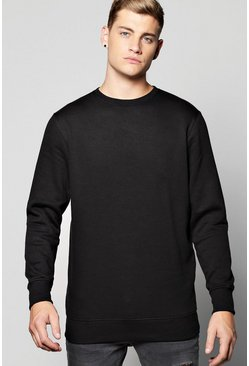 Basic Crew Neck Sweatshirt