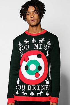 Bullseye Christmas Jumper