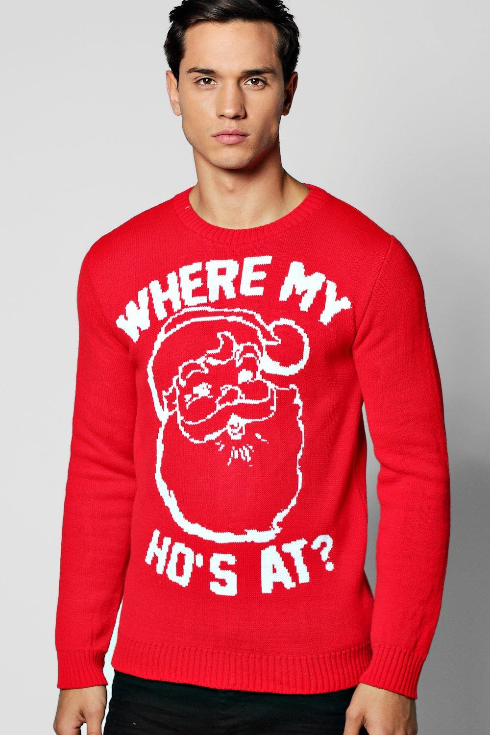 Where My Ho's At? Christmas Jumper