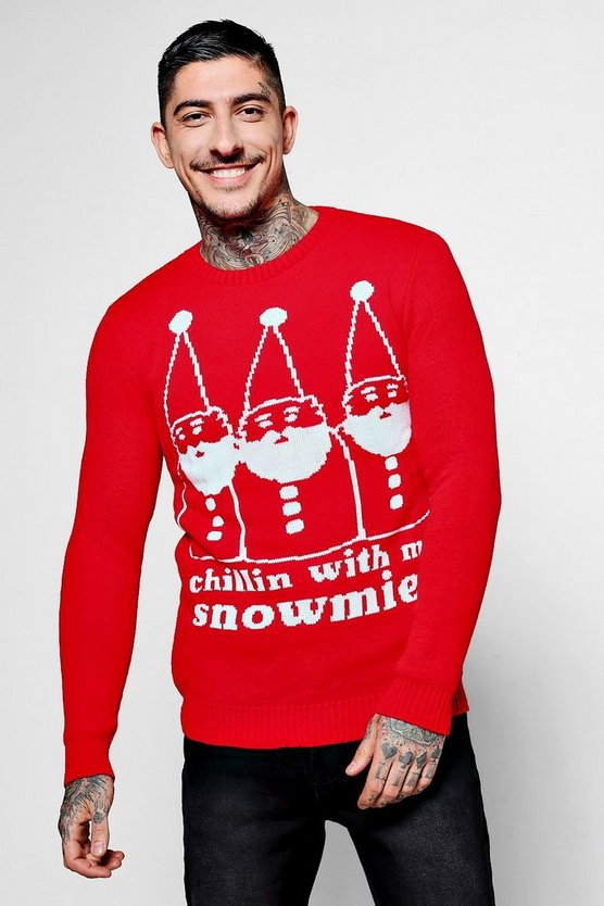 Chillin With My Snowmies Christmas Jumpers