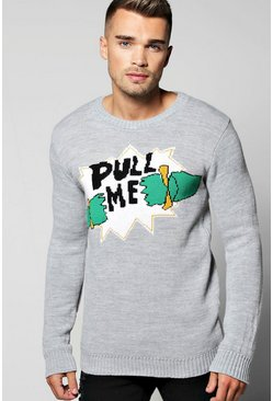 Pull Me Christmas Jumper