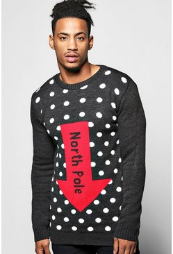 North Pole Christmas Jumper