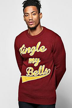 Jingle My Bells Christmas Jumper