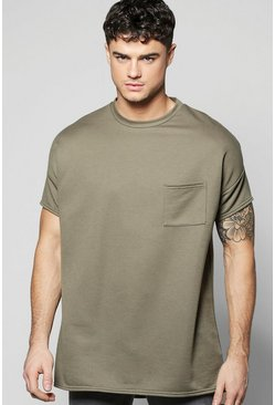 Oversized Sweat with Chest Pocket