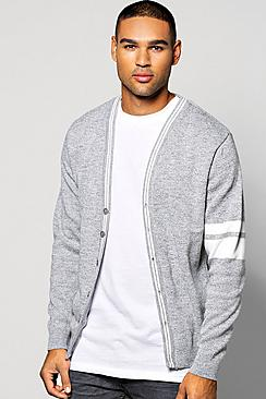 Button Through Knitted Cardigan