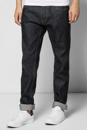 Slim Fit Overdyed Rigid Jeans