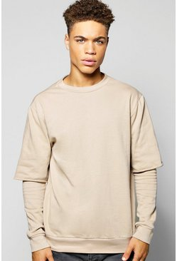 Oversized Layer Sweatshirt