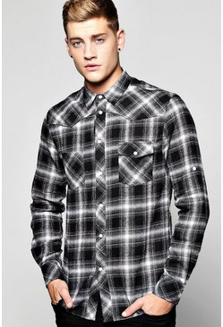 Multi Striped Checked Shirt