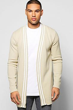 Smart Tipped Patch Pocket Cardi