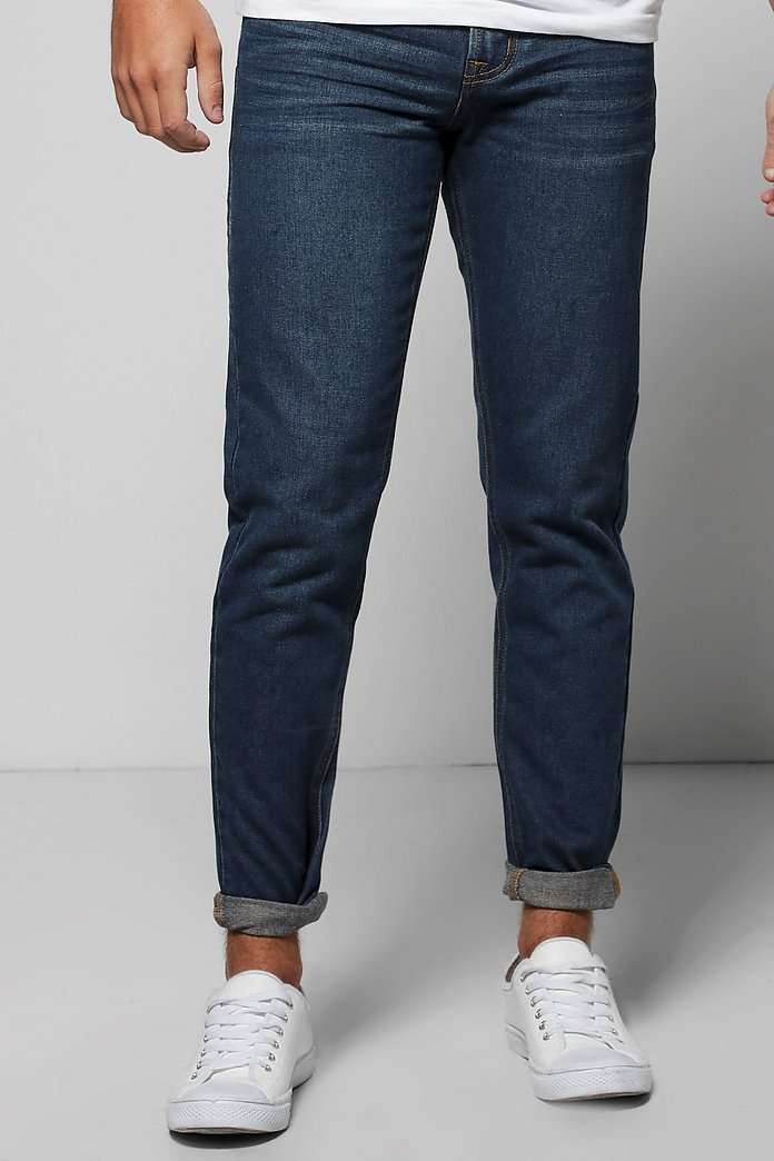 Slim Fit Rigid Denim Jeans
