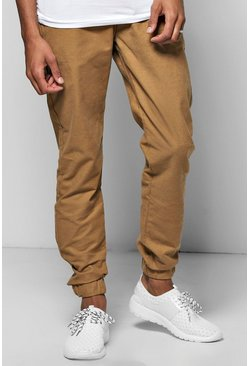 Smart Woven Joggers With Elasticated Waistband