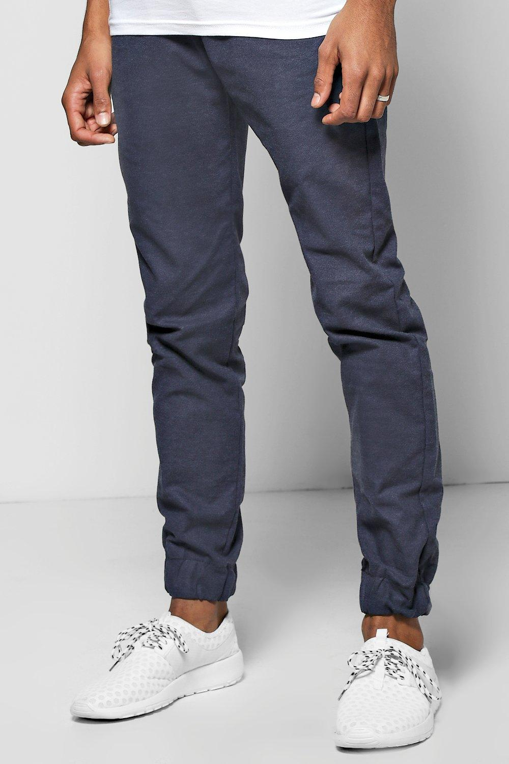 Smart Woven Joggers With Elasticated Waitsband