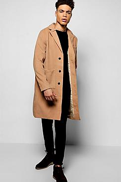 Quincy Smart Wool Mix Peacoat