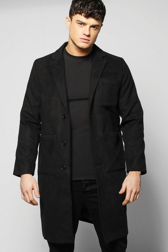 Smart Wool Mix Peacoat