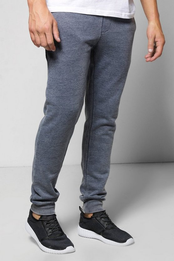 Denim Wash Skinny Joggers