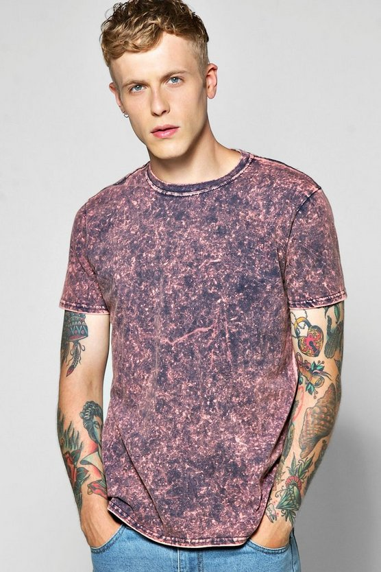 Colour Wash T Shirt