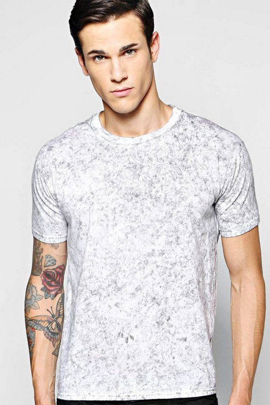 Black Snow Wash T Shirt