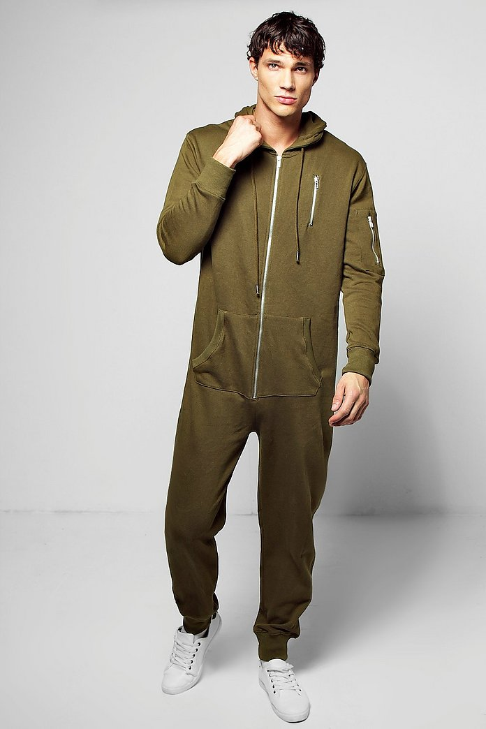 MA1 Hooded Onesie