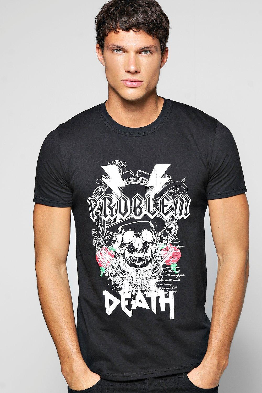 Problem Death Metal T Shirt