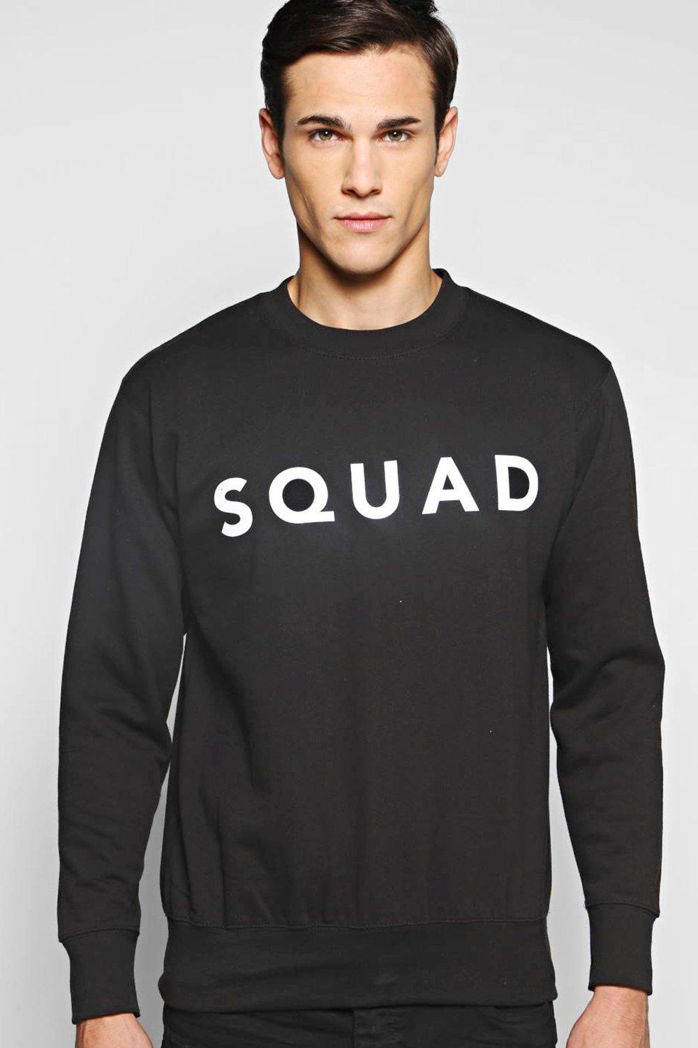 Squad Slogan Sweater